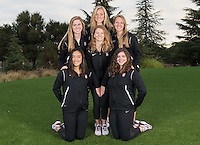 Stanford, Ca - October 4, 2016: The 2016-2017 Stanford Synchronized Swimming Team. Sophomore Class