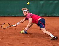 The Hague, Netherlands, 28 July, 2016, Tennis,  The Hague Open, Stefanos Tsitsipas (GRE)<br /> Photo: Henk Koster/tennisimages.com
