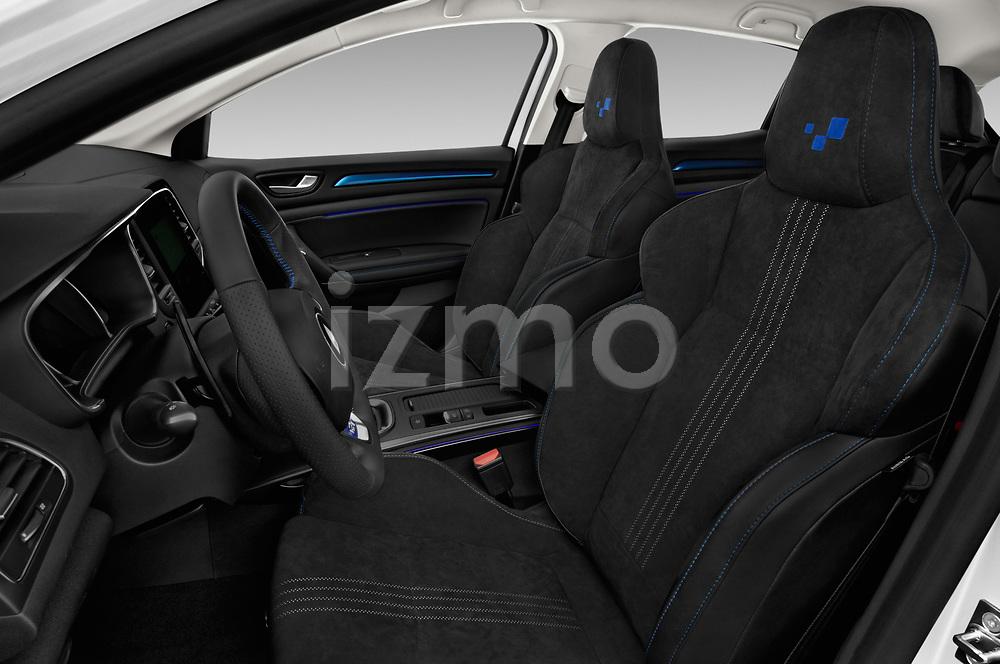 Front seat view of a 2017 Renault Megane GT 5 Door Hatchback front seat car photos