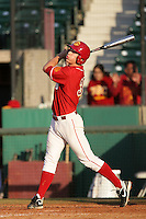 March 7 2010: Beau Brett of USC during game against University of New Mexico at Dedeaux Field in Los Angeles,CA.  Photo by Larry Goren/Four Seam Images