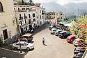 General view of Piazza Ernesto Capocci, Picinisco, Italy.