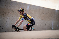 Tom Dumoulin (NED/Jumbo-Visma) at the race start in Riemst<br /> <br /> 17th Benelux Tour 2021<br /> Stage 5 from Riemst to Bilzen (BEL/192km)<br /> <br /> ©kramon