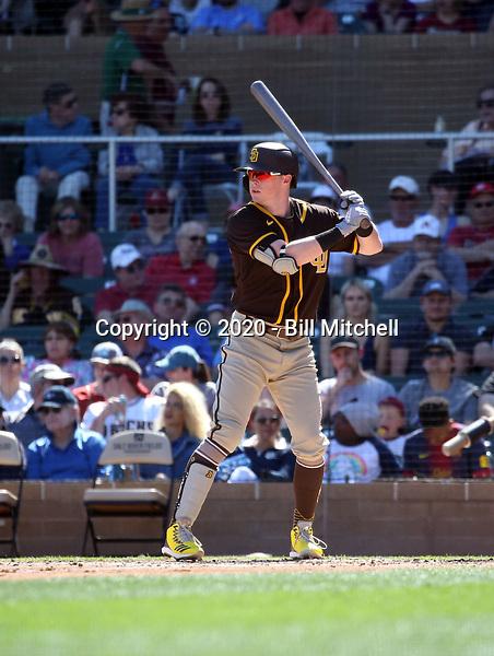 Jake Cronenworth - San Diego Padres 2020 spring training (Bill Mitchell)