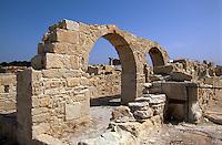 Zypern (Süd), byzantinische Basilika in Kourion