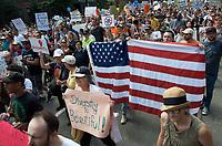 No to White Supremacy march Boston MA 8.19.17
