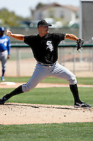 Ryan Rote  -  Chicago White Sox - 2009 spring training.Photo by:  Bill Mitchell/Four Seam Images