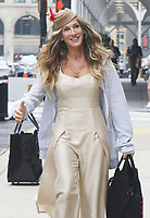 NEW YORK, NY - July 14: Sarah Jessica Parker on the set of the HBOMax Sex And The City reboot series 'And Just Like That' in New York City on July 14, 2021. <br /> CAP/MPI/RW<br /> ©RW/MPI/Capital Pictures