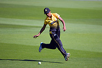 Wellington's Maneka Singh fields during the Hallyburton Johnstone Shield women's cricket match between Wellington Blaze and Otago Sparks at the Basin Reserve in Wellington, New Zealand on Sunday, 14 March 2021. Photo: Dave Lintott / lintottphoto.co.nz