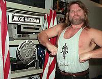 Hacksaw Jim Duggan 2000                                                 Photo by  John Barrett/PHOTOlink