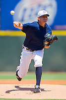 Starting pitcher Daniel Hudson #41 of the Charlotte Knights in action against the Norfolk Tides at Knights Stadium July 5, 2010, in Fort Mill, South Carolina.  Photo by Brian Westerholt / Four Seam Images
