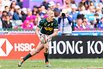Ryan Oosthuizen of South Africa runs with the ball during the HSBC Hong Kong Sevens 2018 match between South Africa and England on April 7, 2018 in Hong Kong, Hong Kong. Photo by Marcio Rodrigo Machado / Power Sport Images