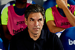 CD Leganes's coach Mauricio Pellegrino during La Liga match between CD Leganes and FC Barcelona at Butarque Stadium in Madrid, Spain. September 26, 2018. (ALTERPHOTOS/A. Perez Meca)