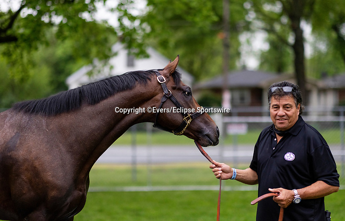 April 29, 2021: Hot Rod Charlie with Leandro Mora  at Churchill Downs in Louisville, Kentucky on April 29, 2021. EversEclipse Sportswire/CSM