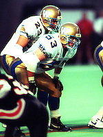Brendan Rogers Winnipeg Blue Bombers 1993. Photo F. Scott Grant