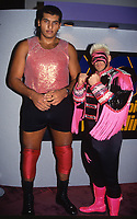 El Gigante & Sting1990<br /> Photo By John Barrett/PHOTOlink
