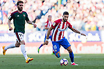 Yannick Ferreira Carrasco of Atletico de Madrid in action during the La Liga match between Atletico de Madrid vs Osasuna at the Estadio Vicente Calderon on 15 April 2017 in Madrid, Spain. Photo by Diego Gonzalez Souto / Power Sport Images