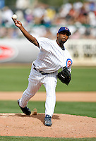 Esmailin Caridad - Chicago Cubs - 2009 spring training.Photo by:  Bill Mitchell/Four Seam Images