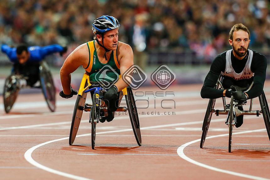 Richard Colman (AUS), Men's 400m - T53, Athletics (Day 04 Sun 2 Sep) - Olympic Stadium, Paralympics - Summer / London 2012, London, England 29 Aug - 9 Sept , © Sport the library/Greg Smith