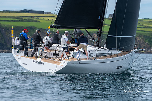 Bob Rendell's Samatom, a new Grand Soleil 44 from Howth