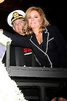 "LOS ANGELES - DEC 30:  Gavin MacLeod, Jill Whelan at the Original ""Love Boat"" Cast decorates Princess Cruises' Rose Parade Float at a Rosemont Pavilion on December 30, 2014 in Pasadena, CA"