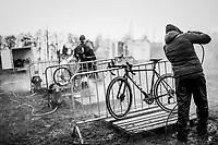 cleaning station<br /> <br /> 2021 UCI CX World Cup Overijse (BEL)<br /> Vlaamse Druivencross<br /> <br /> ©kramon