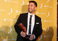 at gemaux 30 th gala, september 30, 2015 at Montreal's Place-des-arts.<br /> <br /> <br /> <br /> Photo : Pierre Roussel - Agence Quebec Presse