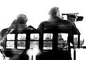 Straton Island Ferry  passengers videoing Manhatten CREDIT Geraint Lewis