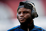 Wakaso Mubarak, M Wakaso, of Deportivo Alaves is seen prior to the La Liga 2018-19 match between Atletico de Madrid and Deportivo Alaves at Wanda Metropolitano on December 08 2018 in Madrid, Spain. Photo by Diego Souto / Power Sport Images