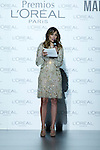03.09.2012.  L'Oreal award in the Mercedes-Benz Fashion Week Madrid Spring/Summer 2013 at Ifema. In the image Adriana Ugarte (Alterphotos/Marta Gonzalez)