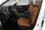 Front seat view of a 2020 GMC Acadia AT4 5 Door SUV front seat car photos