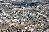 aerial of Commerce City refinery
