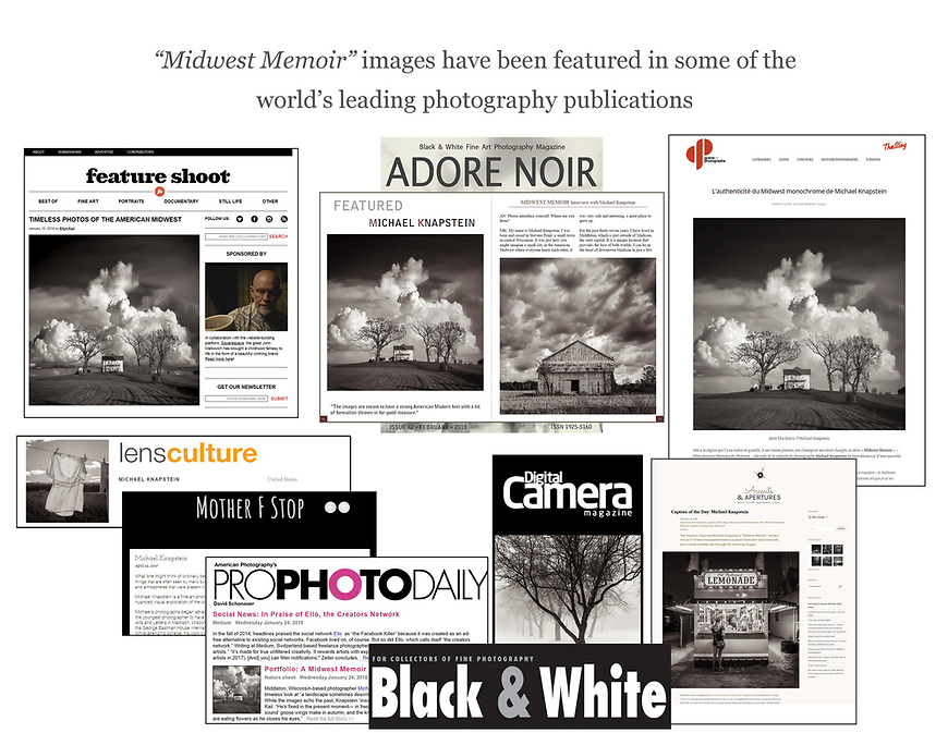 """Michael Knapstein's """"Midwest Memoir"""" portfolio has been featured in some of the world's leading photography publications."""