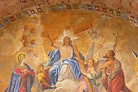 Mosaic on Saint Marks Basilica -Ascension of Christ -  Venice - Italy