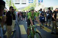 sweaty Pierre Rolland (FRA/Cannondale-Drapac) after finishing<br /> <br /> stage 16: Morain-en-Montagne to Bern (SUI) / 209km<br /> 103rd Tour de France 2016