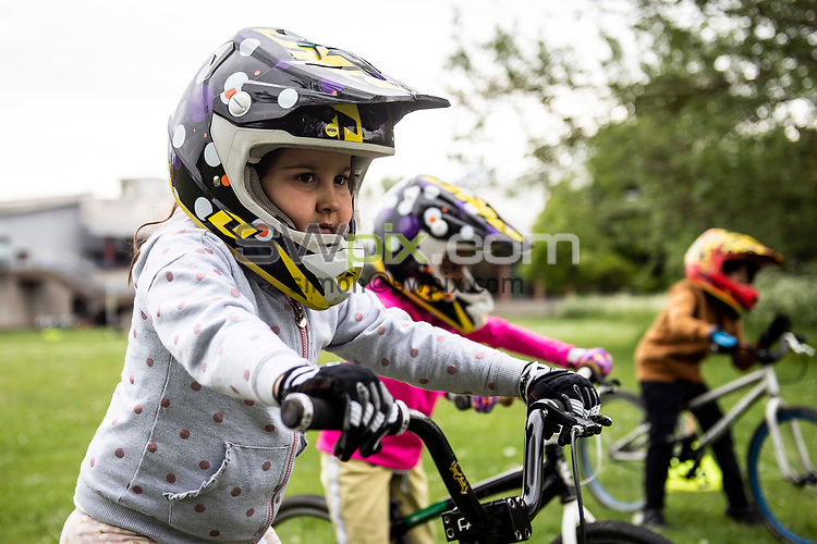 Picture by Simon Wilkinson/SWpix.com - 01/06/2021 - British Cycling Spring Photography Project 2021 - 26/05/2021 Ealing BMX