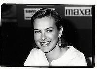 Montreal (Qc) Canada  file Photo - sept1994 - ,Carole Bouquet