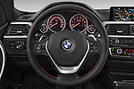 Car pictures of steering wheel view of a 2014 BMW SERIES 3 Sport 4 Door Sedan 2WD Steering Wheel