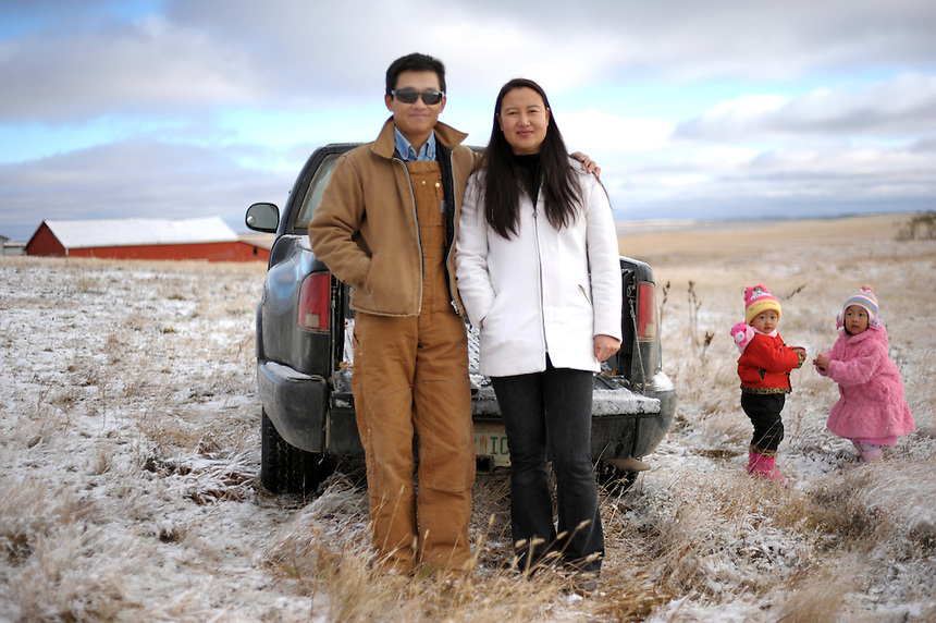 Sheldon Zou and his wife, Linda,  immigrated from China to farm these 4,000 acres near Ogema, Sask. This story marked the first time one of my photos ran above the fold on the cover of The Globe and Mail. This photo, which is not the photo that ran on the cover, ran inside on the cover of the business section and has since been licensed for use in several social studies textbooks. I like it for the same reason as the textbook editors: it shows the changing face of Saskatchewan.