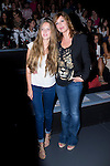 03.09.2012. Celebrities attending the Sita Mur fashion show during the Mercedes-Benz Fashion Week Madrid Spring/Summer 2013 at Ifema. In the image Belinda Washington and her daughter Andrea Ortiz (Alterphotos/Marta Gonzalez)