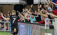 Washington, DC. - Saturday September 29, 2018: D.C. United defeated the Montreal Impact 5-0 in a MLS match at Audi Field.
