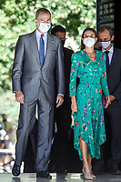 GRANADA, SPAIN-  June 10: **NO SPAIN** King Felipe and Queen Letizia visit La Alhambra and attend the Design and Innovation awards in Granada, Spain on June10, 2021. Credit: Jimmy Olsen/MediaPunch