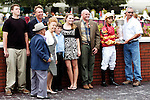 17 October 2009:  Chary and Jockey Juan Levya in the winners circle after winning the Calder Oaks Stakes at Calder Race Course in Miami Gardens, FL.