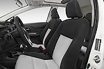 Front seat view of a 2015 Toyota Prius c Three 5 Door Hatchback Front Seat car photos