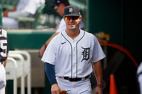 Detroit Tigers Spencer Torkelson (19) before a Florida Instructional League game against the Pittsburgh Pirates on October 16, 2020 at Joker Marchant Stadium in Lakeland, Florida.  (Mike Janes/Four Seam Images)