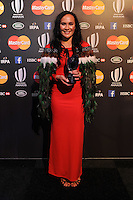 Portia Woodman, winner of the Womens Sevens Player of the Year award at the World Rugby Awards 2015  - 01/11/2015 - Battersea Evolution, London<br /> Mandatory Credit: Rob Munro/Stewart Communications