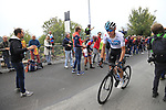 David De La Cruz (ESP) Team Sky climbs the Superga for the 1st ascent during the 99th edition of Milan-Turin 2018, running 200km from Magenta Milan to Superga Basilica Turin, Italy. 10th October 2018.<br /> Picture: Eoin Clarke | Cyclefile<br /> <br /> <br /> All photos usage must carry mandatory copyright credit (© Cyclefile | Eoin Clarke)