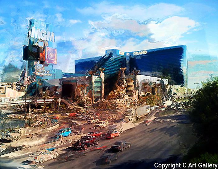 MGM Afternoon, Las Vegas, NV