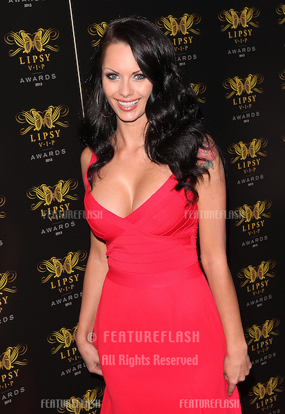 Jessica Jane Clement arriving for the Lipsy Fashion Awards,  at Dstrkt, London. 29/05/2013 Picture by: Alexandra Glen / Featureflash
