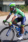 Caleb Ewan (AUS) Orica GreenEdge wearing the sprint leader's jersey during Stage 2 of the 2015 Presidential Tour of Turkey running 182km from Alanya to Antalya. 27th April 2015.<br /> Photo: Tour of Turkey/Stiehl Photography/Mario Stiehl/www.newsfile.ie