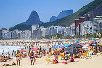 15/01/2021 - AGLOMERAÇÃO EM PRAIA DO RIO DE JANEIRO
